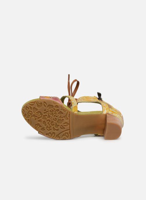 Sandales et nu-pieds Laura Vita Bernie 178 Jaune vue haut