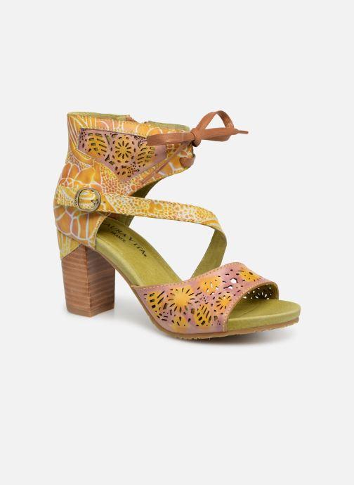 Sandales et nu-pieds Laura Vita Bernie 178 Jaune vue détail/paire
