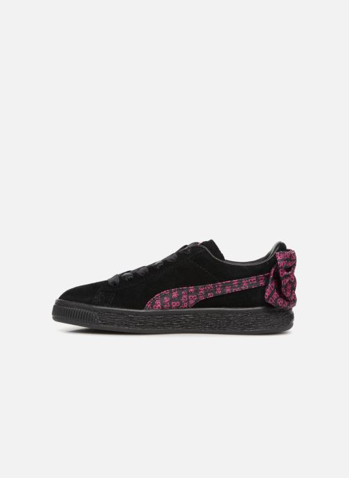 Trainers Puma SUEDE x Barbie PS Black front view