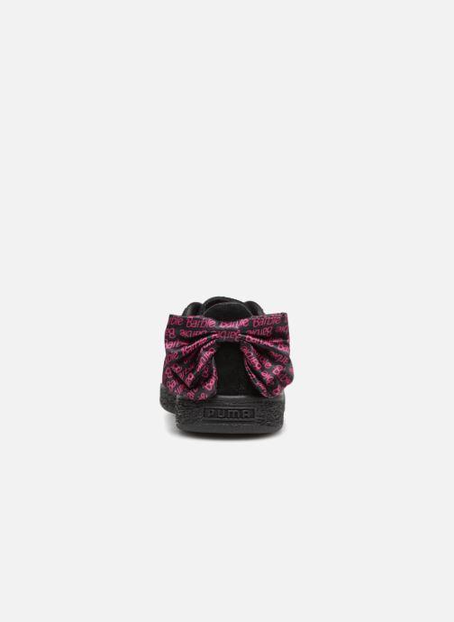 Baskets Puma SUEDE x Barbie PS Noir vue droite