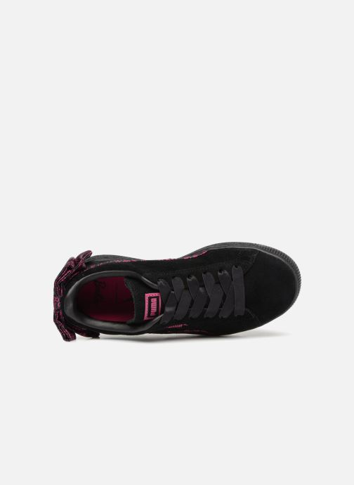 Trainers Puma SUEDE x Barbie PS Black view from the left