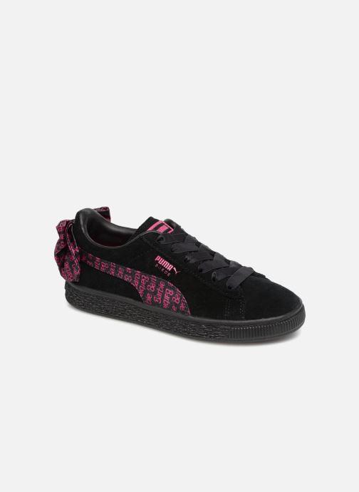 Baskets Puma SUEDE x Barbie PS Noir vue détail/paire