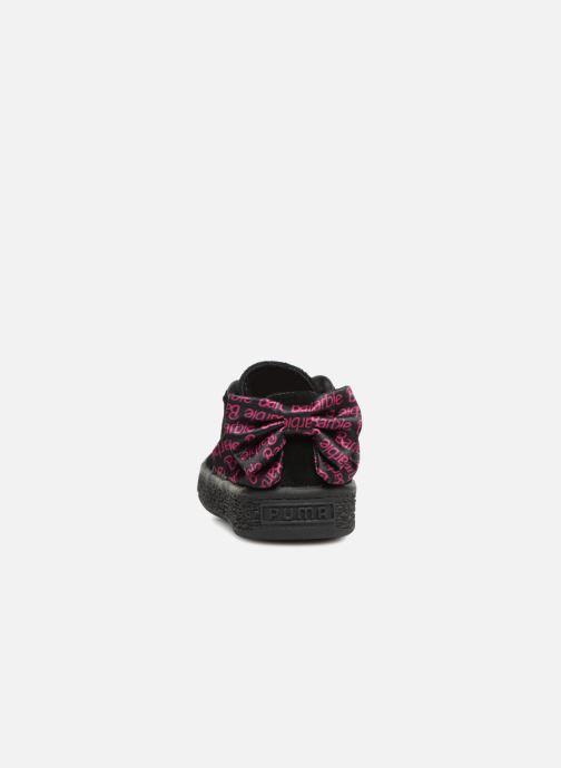 Baskets Puma SUEDE x Barbie Inf Noir vue droite