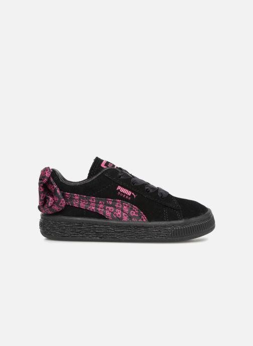 Sneaker Puma SUEDE x Barbie Inf schwarz ansicht von hinten