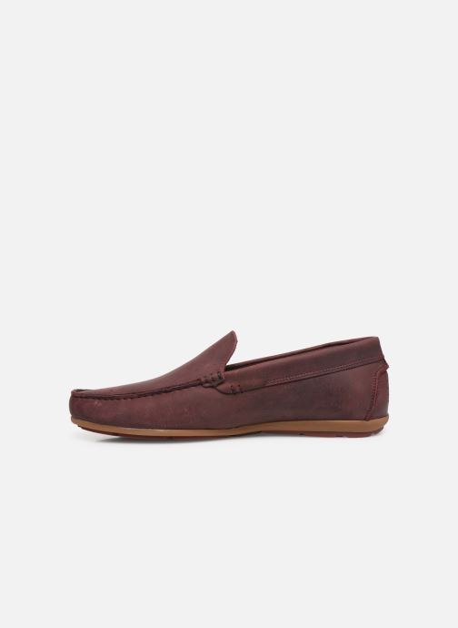 Loafers TBS Portter Burgundy front view