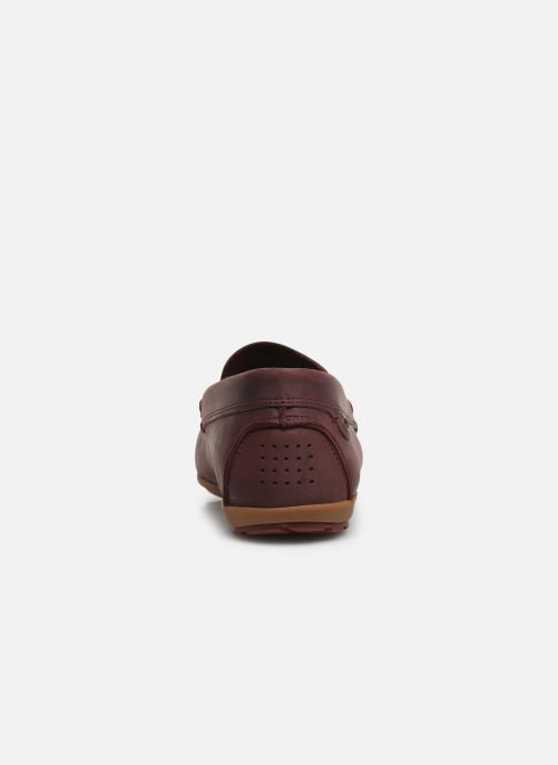 Loafers TBS Portter Burgundy view from the right