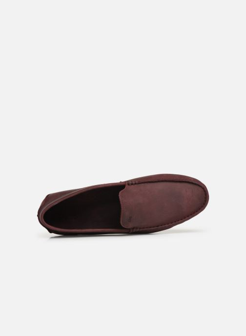 Loafers TBS Portter Burgundy view from the left
