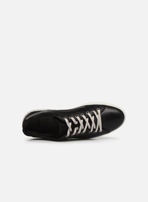 Sneaker TBS Beligno schwarz ansicht von links
