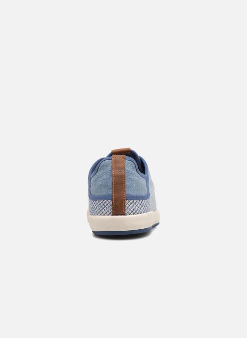 Baskets TBS Ethniks Bleu vue droite