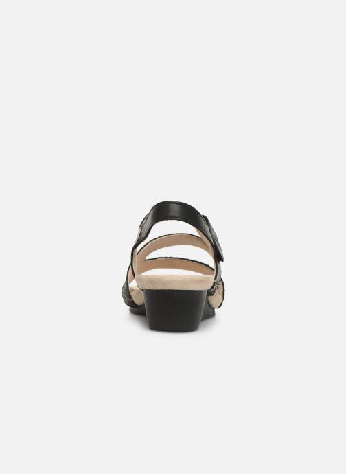 Sandalen TBS Masayah Zwart rechts