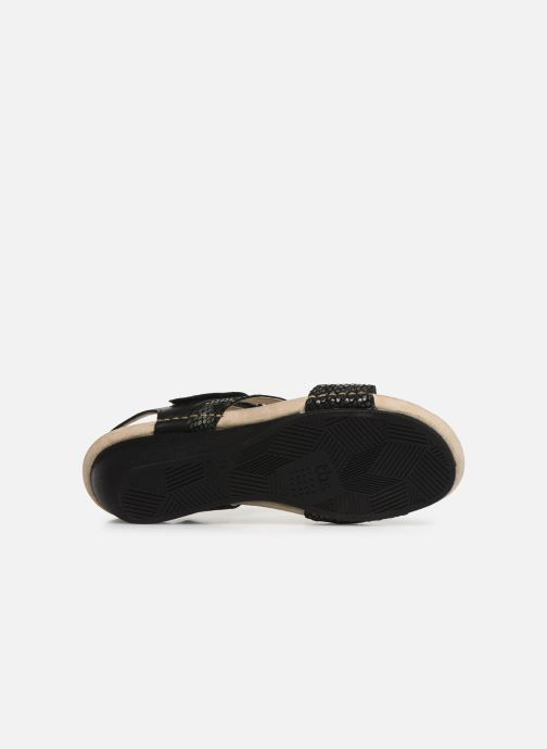 Sandals TBS Masayah Black view from above