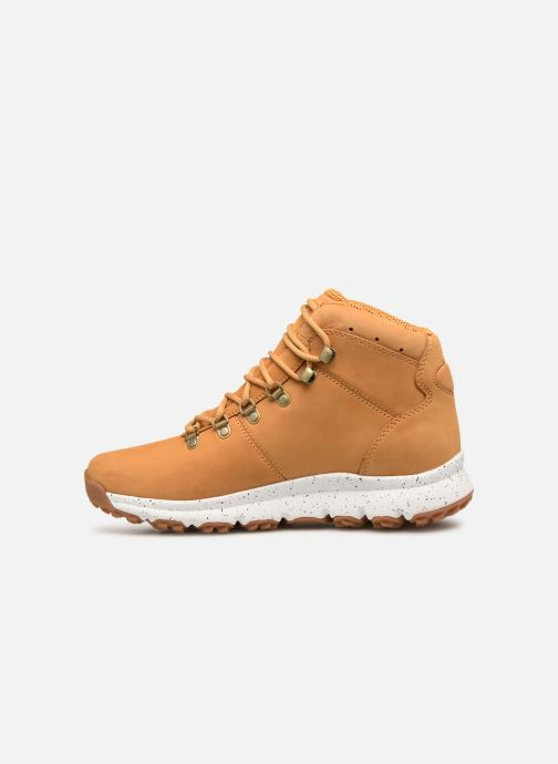 Bottines et boots Timberland World Hiker Mid Marron vue face