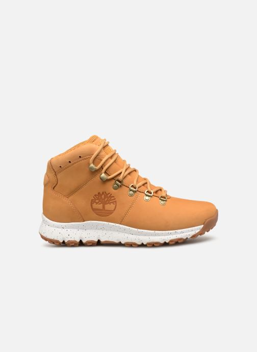 Bottines et boots Timberland World Hiker Mid Marron vue derrière