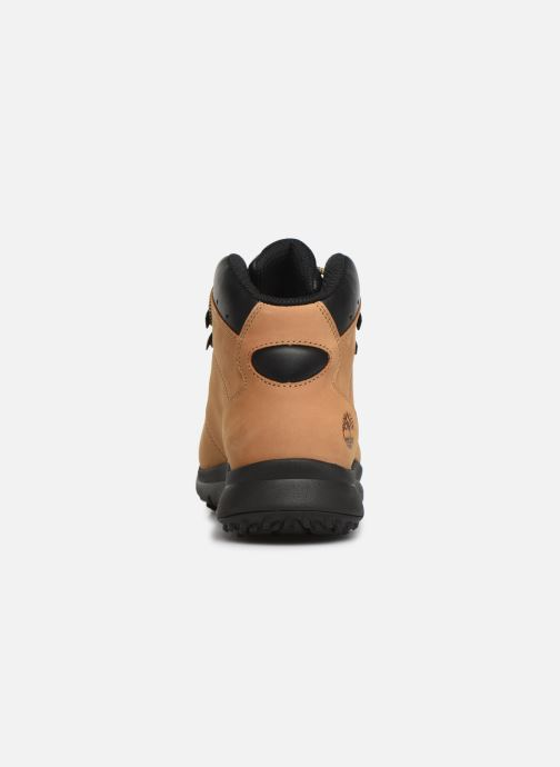 Ankle boots Timberland World Hiker Mid Beige view from the right