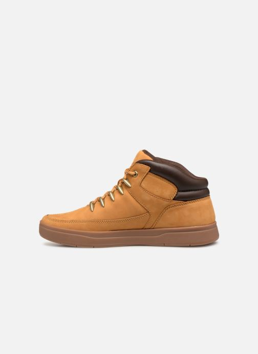 Baskets Timberland Davis Square Hiker Marron vue face