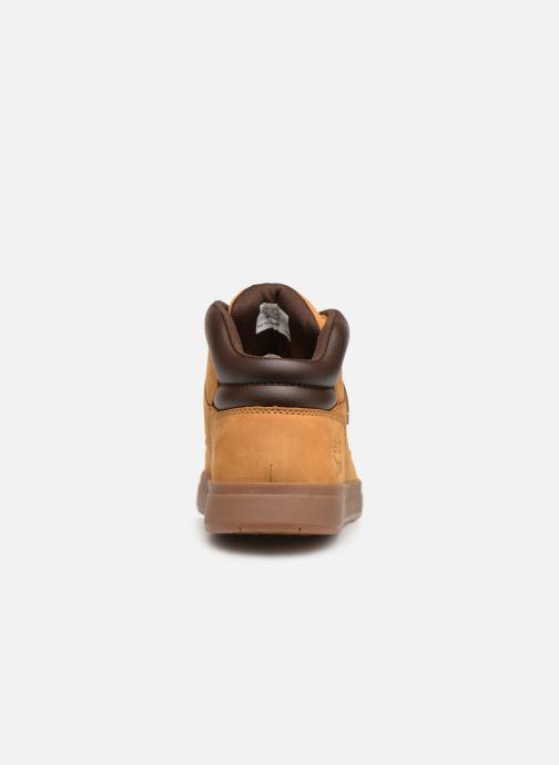 Sneakers Timberland Davis Square Hiker Bruin rechts