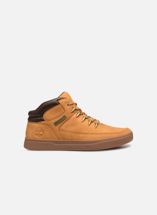 Sneakers Timberland Davis Square Hiker Bruin achterkant