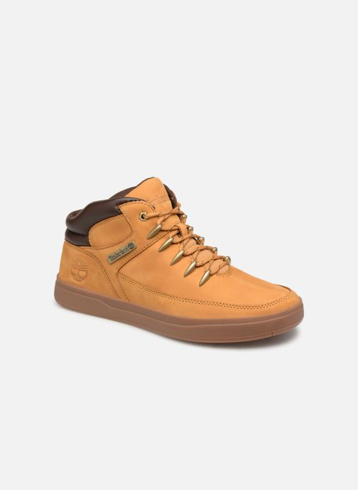 Trainers Timberland Davis Square Hiker Brown detailed view/ Pair view