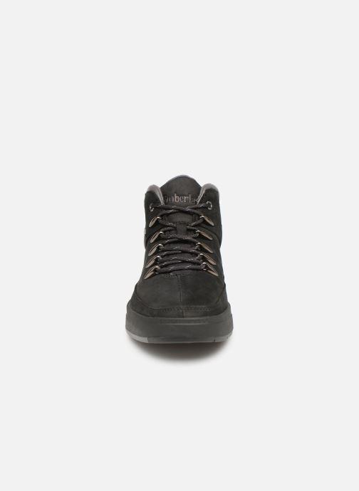 Sneaker Timberland Davis Square Hiker schwarz schuhe getragen