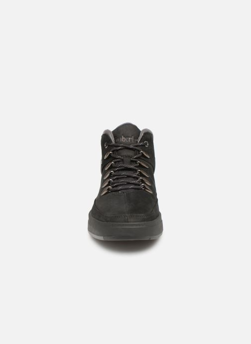 Trainers Timberland Davis Square Hiker Black model view