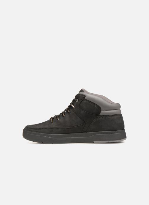Sneaker Timberland Davis Square Hiker schwarz ansicht von vorne