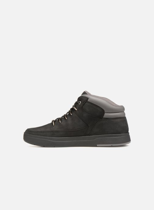 Trainers Timberland Davis Square Hiker Black front view
