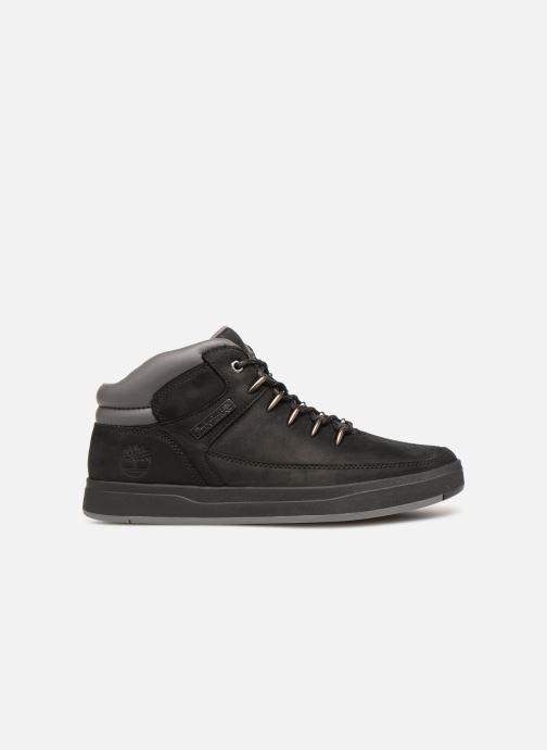 Sneakers Timberland Davis Square Hiker Zwart achterkant