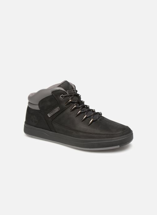 Trainers Timberland Davis Square Hiker Black detailed view/ Pair view