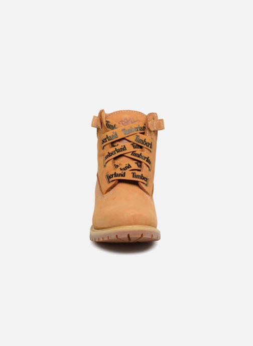 Bottines et boots Timberland Convenience Boot Marron vue portées chaussures