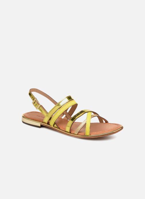 Les Par pieds Tropéziennes M Sandales Nu jaune Barbara Belarbi Chez Et rqrpw4x7