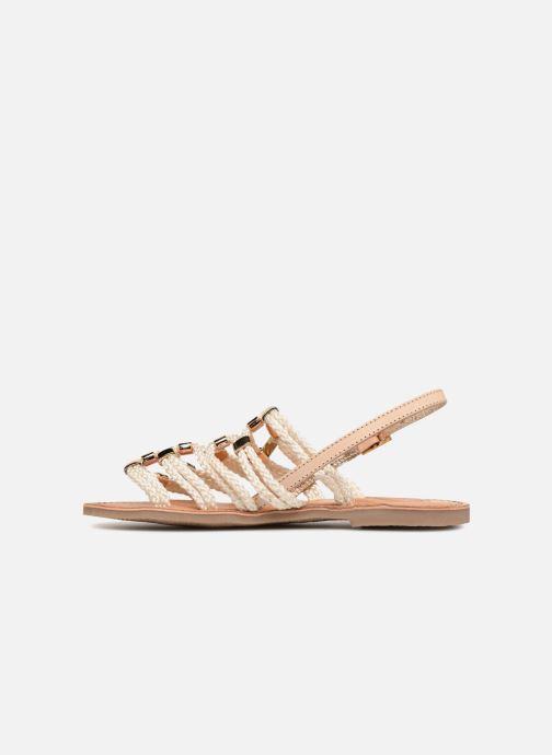 Sandales et nu-pieds Les Tropéziennes par M Belarbi Brigitte Marron vue face