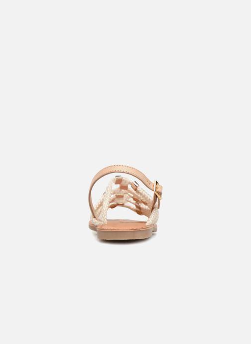 Sandales et nu-pieds Les Tropéziennes par M Belarbi Brigitte Marron vue droite