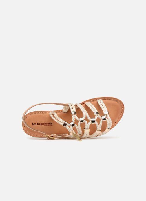 Sandales et nu-pieds Les Tropéziennes par M Belarbi Brigitte Marron vue gauche