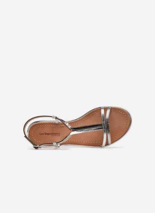 Sandales et nu-pieds Les Tropéziennes par M Belarbi Brune 2 Argent vue gauche
