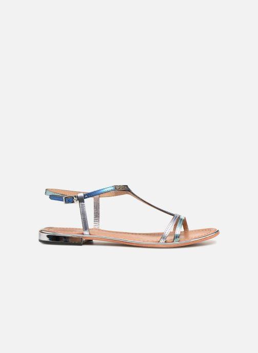 Sandales et nu-pieds Les Tropéziennes par M Belarbi Brune 2 Bleu vue derrière