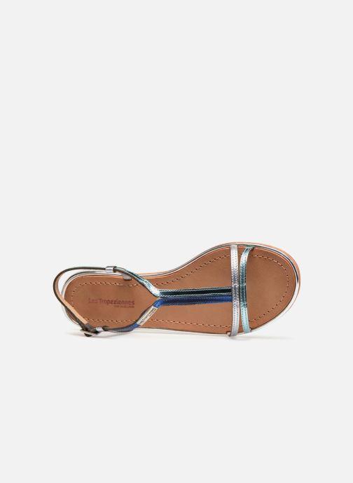 Sandales et nu-pieds Les Tropéziennes par M Belarbi Brune 2 Bleu vue gauche