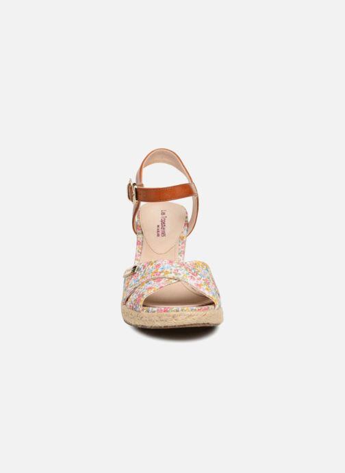 Espadrilles Les Tropéziennes par M Belarbi Chapy Bleu vue portées chaussures