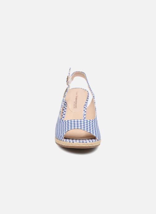 Espadrilles Les Tropéziennes par M Belarbi Cladie Bleu vue portées chaussures