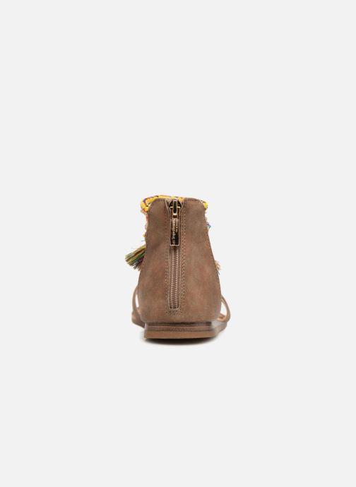 Sandales et nu-pieds Les Tropéziennes par M Belarbi Gringa W Marron vue droite