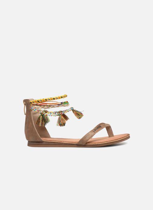 Sandales et nu-pieds Les Tropéziennes par M Belarbi Gringa W Marron vue derrière