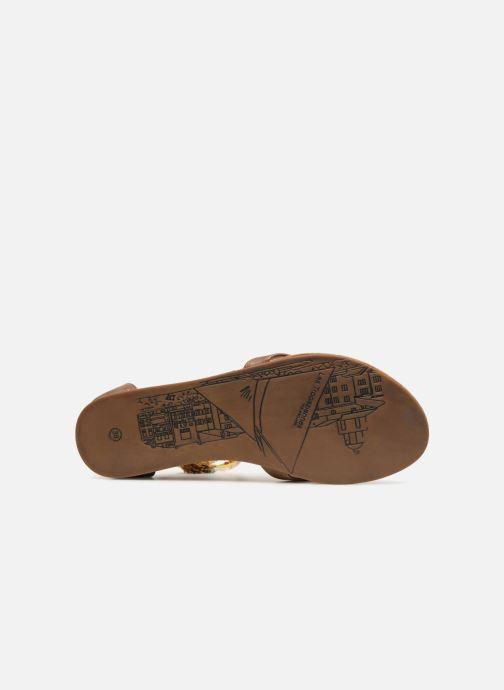 Sandales et nu-pieds Les Tropéziennes par M Belarbi Gringa W Marron vue haut