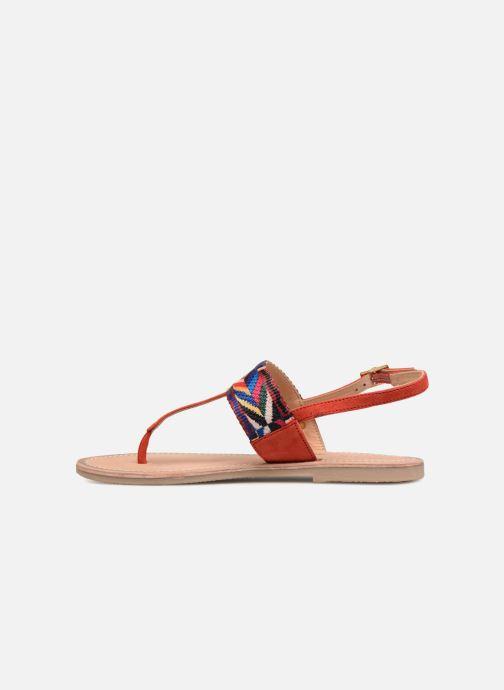 Sandales et nu-pieds Les Tropéziennes par M Belarbi Melita Rouge vue face