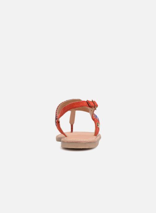 Sandales et nu-pieds Les Tropéziennes par M Belarbi Melita Rouge vue droite