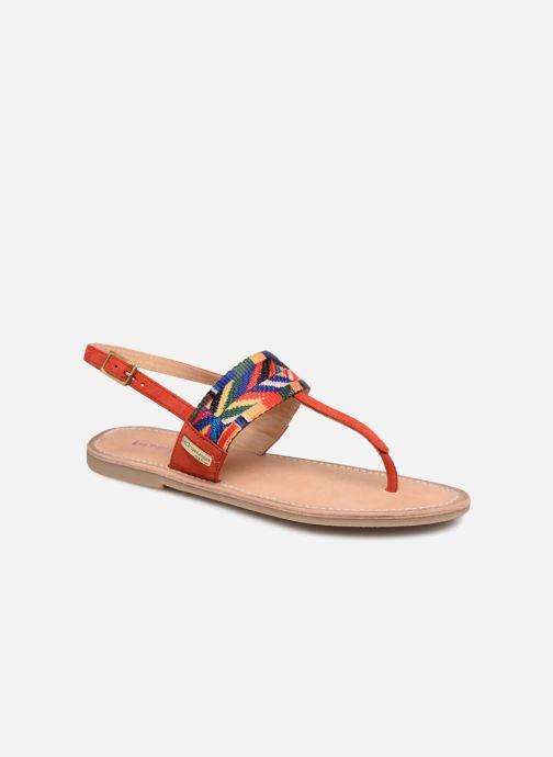 Sandales et nu-pieds Les Tropéziennes par M Belarbi Melita Rouge vue détail/paire