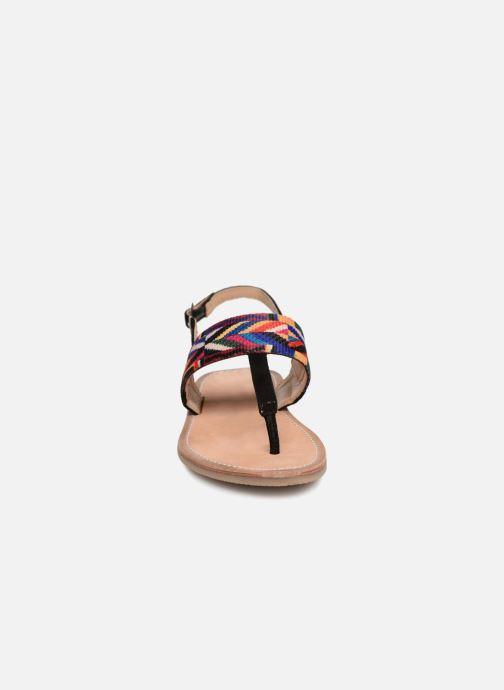 Sandalias Les Tropéziennes par M Belarbi Melita Negro vista del modelo