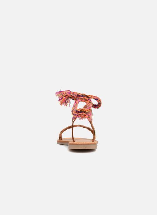 Sandales et nu-pieds Les Tropéziennes par M Belarbi Olaf Marron vue droite