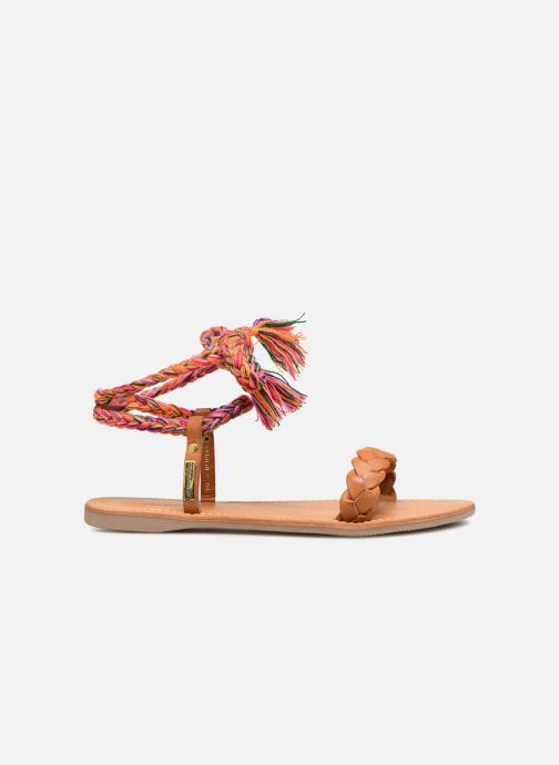 Sandales et nu-pieds Les Tropéziennes par M Belarbi Olaf Marron vue derrière
