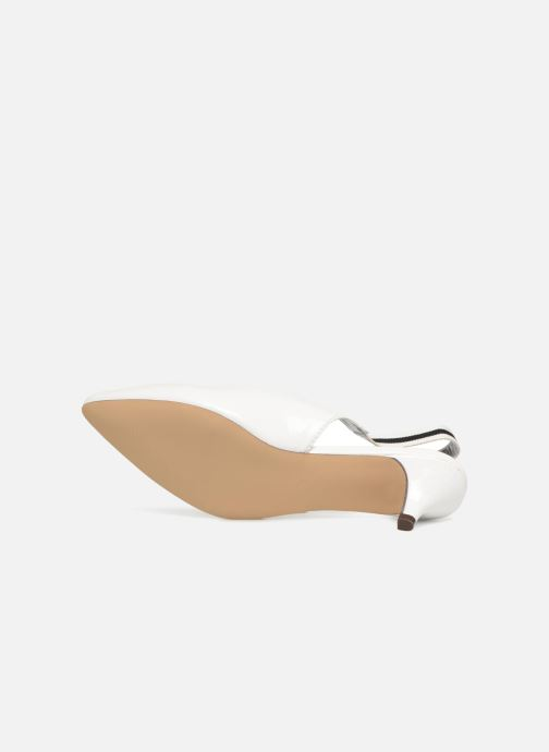 Escarpins I Love Shoes Thanon Blanc vue haut