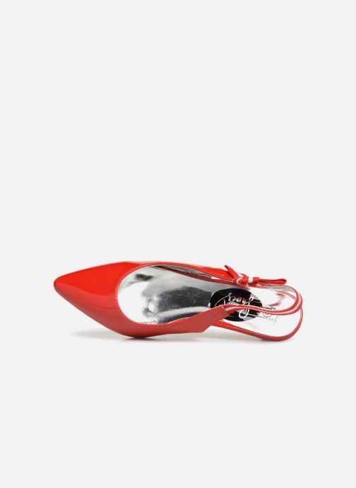 Escarpins I Love Shoes Thanon Rouge vue gauche
