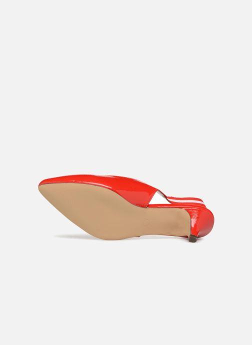Escarpins I Love Shoes Thanon Rouge vue haut